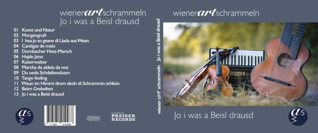 "Cover der CD ""Jo i was a beisl drausd"""